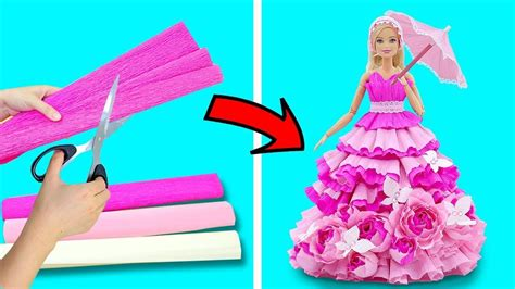 Diy Doll Clothes Hacks Made With Paper